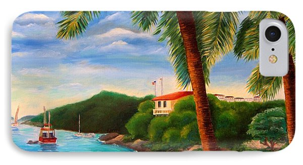 Cruzin' In The Bay IPhone Case by Shelia Kempf