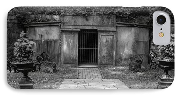 IPhone Case featuring the photograph Crypt At Belle Meade Mansion by Robert Hebert