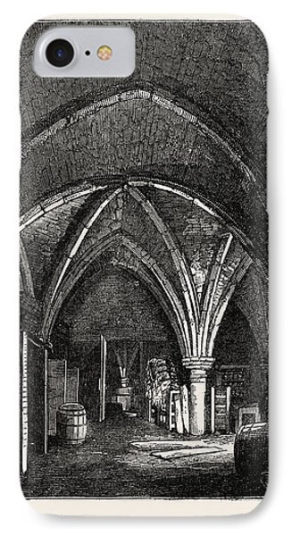 Crypt Under Gerards Hall, Basing Lane IPhone Case