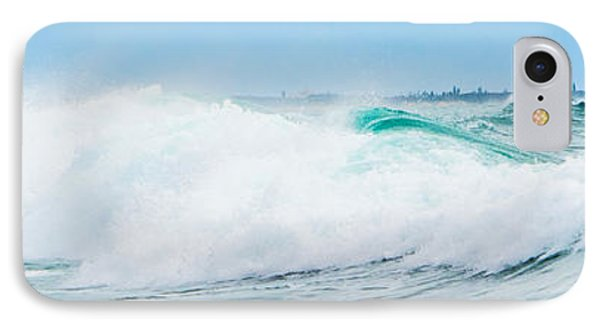 Crystal Blue Waves IPhone Case by Parker Cunningham