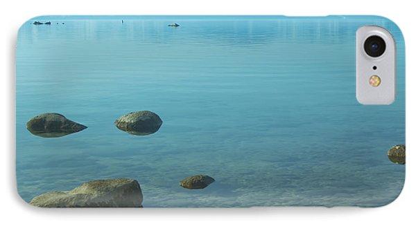 Crystal Clear Lake Tahoe Phone Case by Kim Hojnacki