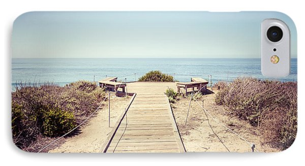 Crystal Cove Overlook Retro Picture IPhone Case