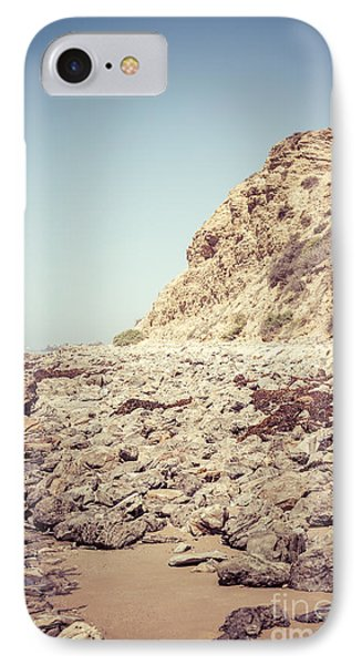 Crystal Cove State Park Cliff Picture Phone Case by Paul Velgos