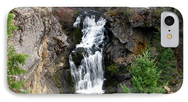 Crystal Falls IPhone Case by Greg Patzer