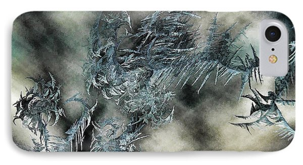 IPhone Case featuring the digital art Crystal Heaven by Steven Richardson