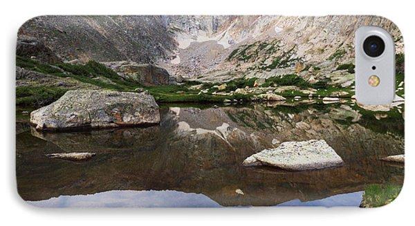 Crystal Lake Reflection IPhone Case
