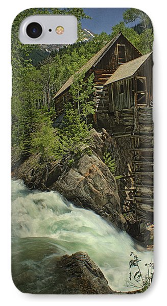 Crystal Mill IPhone Case by Priscilla Burgers