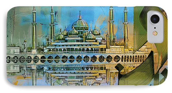 Crystal Mosque Phone Case by Corporate Art Task Force