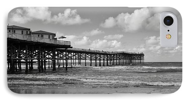 Crystal Pier In Pacific Beach IPhone Case by Ana V Ramirez
