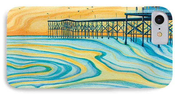 Crystal Pier San Diego IPhone Case by Emily Brantley