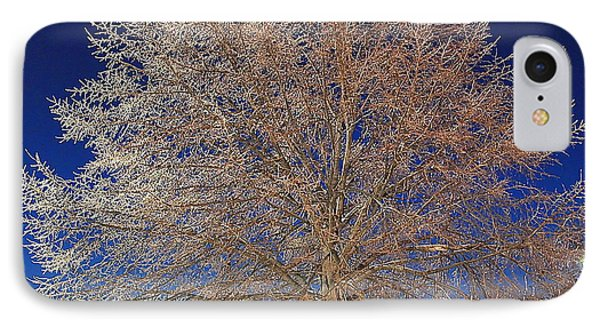 Crystal Tree Phone Case by Frozen in Time Fine Art Photography