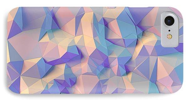 Crystal Triangle IPhone Case by Vitaliy Gladkiy