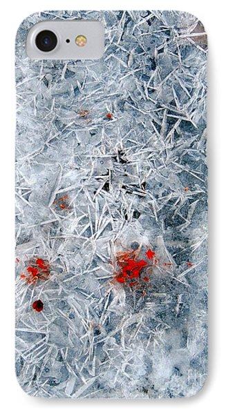 Crystallized Ice Phone Case by Marcia Lee Jones