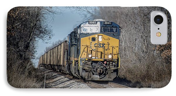 Csx T108 On Morganfield Branch Madisonville Ky IPhone Case by Jim Pearson