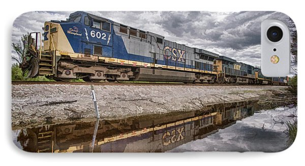 Csx The Spirit Of Maryland IPhone Case by Jim Pearson