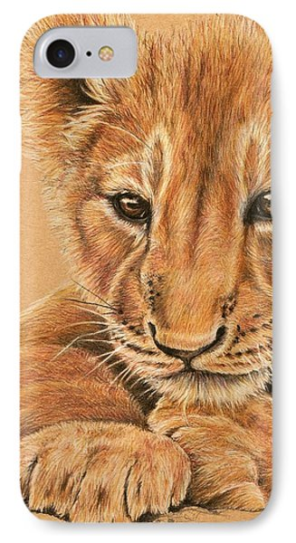 cub IPhone Case by Heidi Kriel