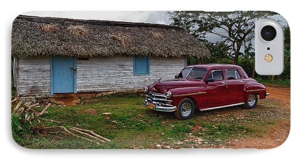 IPhone Case featuring the photograph Cuba Cars 3 by Juergen Klust