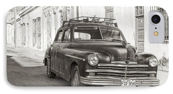 IPhone Case featuring the photograph Cuba Cars I by Juergen Klust