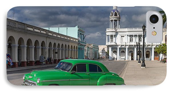 IPhone Case featuring the photograph Cuba Green  by Juergen Klust