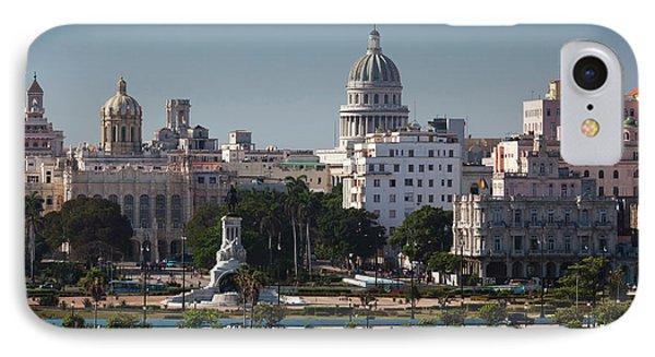 Cuba, Havana, Elevated City View IPhone Case