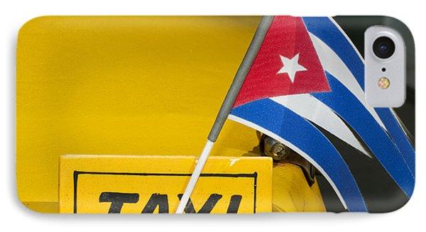 Cuba Taxi Phone Case by Norman Pogson