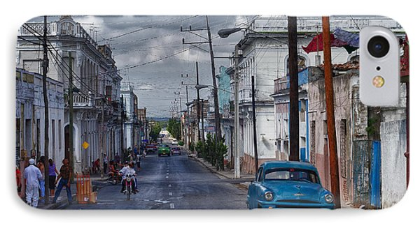 IPhone Case featuring the photograph Cuba Traffic by Juergen Klust