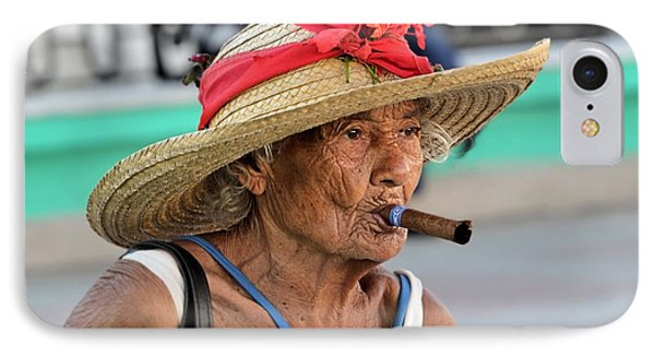 Cuban Lady IPhone Case