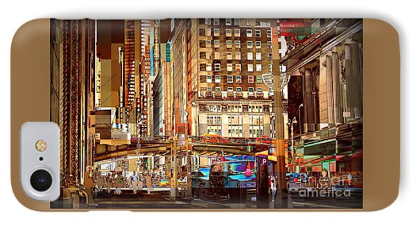 Grand Central And 42nd St Phone Case by Miriam Danar