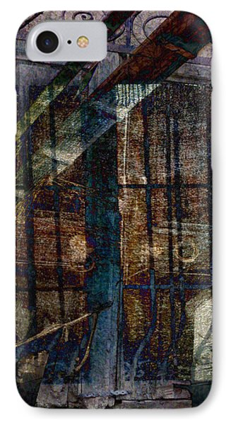 Cubist Shutters Doors And Windows Phone Case by Sarah Vernon