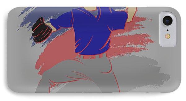 Cubs Shadow Player IPhone Case by Joe Hamilton