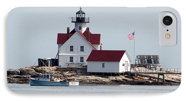 Cuckholds Lighthouse IPhone Case by Catherine Gagne