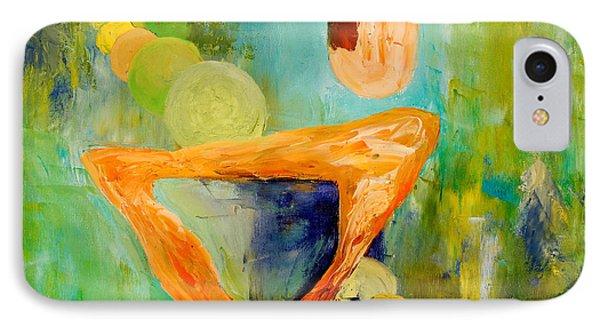 Cue L'orange Phone Case by Larry Martin