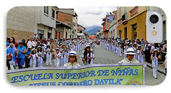 Cuenca Kids 326 Phone Case by Al Bourassa