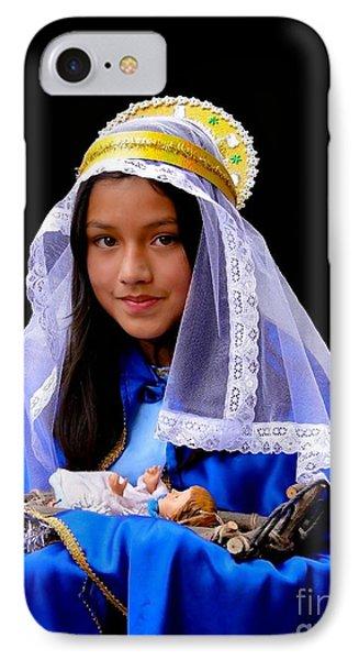 Cuenca Kids 331 IPhone Case by Al Bourassa