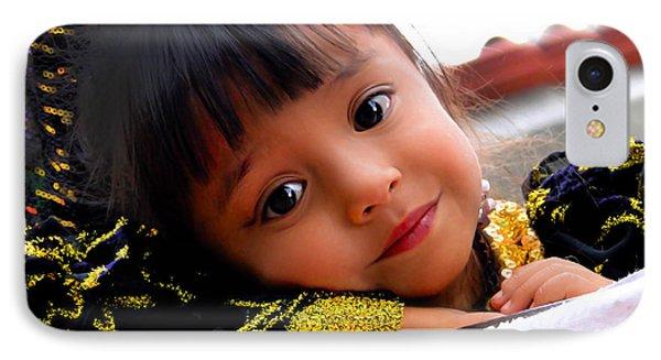 Cuenca Kids 451 IPhone Case by Al Bourassa