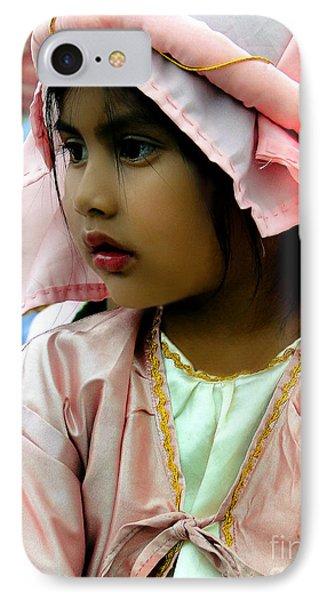 Cuenca Kids 465 IPhone Case by Al Bourassa