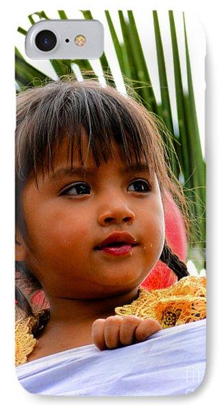 Cuenca Kids 489 IPhone Case by Al Bourassa