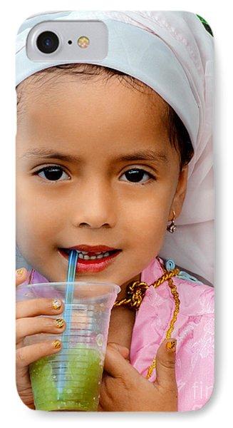 Cuenca Kids 541 IPhone Case by Al Bourassa