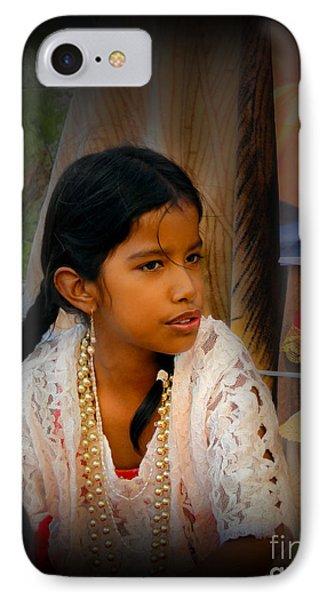 Cuenca Kids 551 IPhone Case by Al Bourassa
