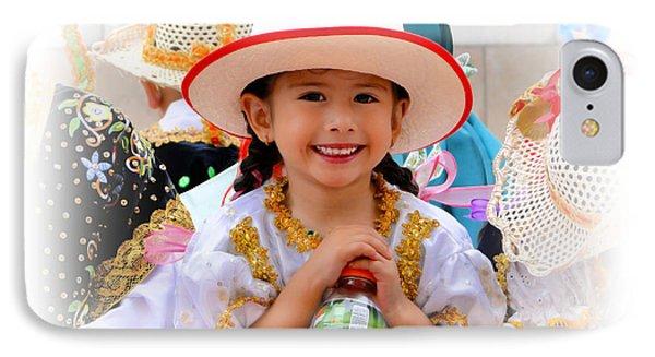 Cuenca Kids 585 IPhone Case by Al Bourassa
