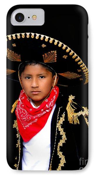 Cuenca Kids 596 IPhone Case by Al Bourassa