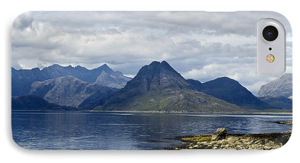 IPhone Case featuring the photograph Cuillin Hills From Elgol Isle Of Skye by Sally Ross