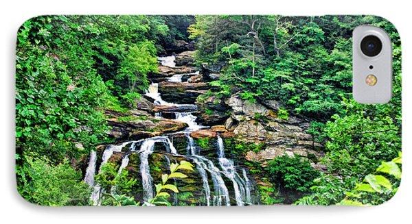Cullasaja Falls IPhone Case by Kenny Francis