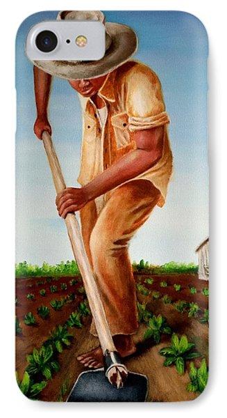 Cultivando Mi Patria IPhone Case by Edgar Torres