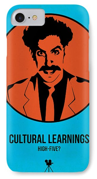 Cultural Learnings IPhone Case by Naxart Studio