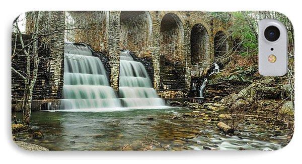 Cumberland Waterfall IPhone Case by Debbie Green