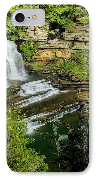 Cummins State Park Falls Vista IPhone Case by Douglas Barnett