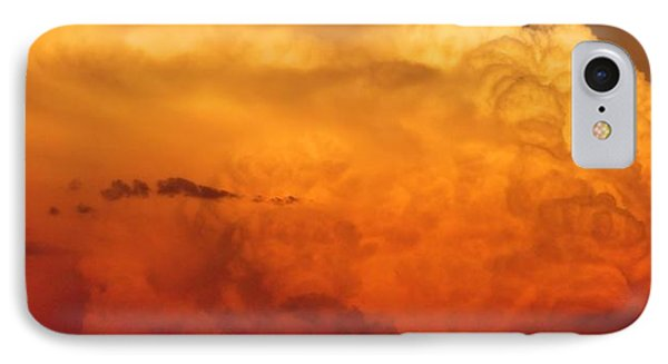 Cumulus Congestus Sunset IPhone Case