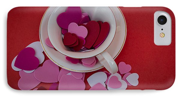 Cup Full Of Love IPhone Case by Patrice Zinck