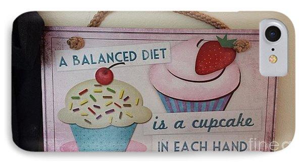 Cupcake Art Phone Case by Charlotte Gray